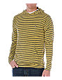 Fallen Newport Mini Striped Yellow Long Sleeve Knit