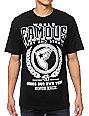 Famous Stars & Straps 99 Crest Black T-Shirt