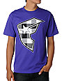 Famous Stars & Straps Badge Of Honor Buffalo Checks Purple T-Shirt
