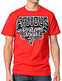 Famous Stars & Straps Block Arc Red T-Shirt