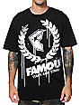 Famous Stars & Straps Breakdown Black & White T-Shirt