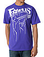 Famous Stars & Straps Crowded Purple T-Shirt