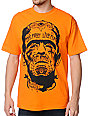 Famous Stars & Straps Die Fast Orange T-Shirt