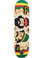 """Flip Penny P2 Cheech & Chong 8.0""""  Rasta Skateboard Deck"""