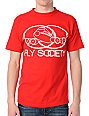 Fly Society Link Mens Red T-Shirt