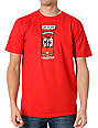 Foundation Oh Yeah! Red Skate T-Shirt