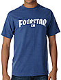 Fourstar High Speed Heather Blue T-Shirt