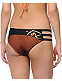 Fox Best Whip Black & Orange Strap Side Bikini Bottom