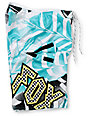 Fox Boys Shattered White & Blue 20 Board Shorts