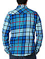 Fox Catch-22 Blue Flannel Shirt