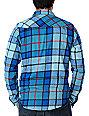 Fox Catch-22 Blue Flannel Shirt