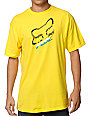 Fox Cramped Yellow T-Shirt