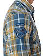 Fox Darryl Blue Woven Shirt