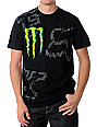 Fox Monster Energy Carmichael Replica Black T-Shirt