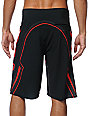 Fox Soleed HC Charcoal & Red Board Shorts