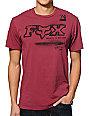 Fox Streator Maroon T-Shirt