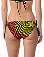 Fox x Rockstar Spike Vortex String Bikini Bottom