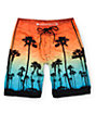 Free World Highlight Palm Tree 20 Board Shorts