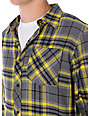 Free World Upstart Grey & Yellow Flannel Shirt