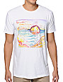 Freedom Artists Oceanscape White T-Shirt