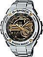 G-Shock G-Steel GST210D-9A Silver & Gold Watch