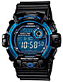 G-Shock G8900A-1 Classic Black & Cobalt Digital Watch