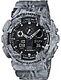 G-Shock GA-100MM-8A Marble White Watch