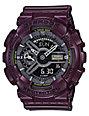 G-Shock GMAS110MC-6A Dark Burgundy Metallic Digital & Analog Watch