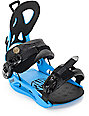 GNU Gateway Blue Snowboard Bindings