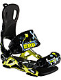 GNU Park Green Mens Snowboard Bindings