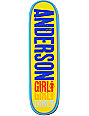 "Girl Anderson Triple 8.5""  Skateboard Deck"