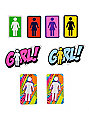 Girl Sticker Pack