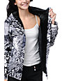 Glamour Kills Creeper Black & White Snow Jacket