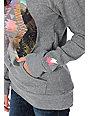 Glamour Kills Dream On Dreamer Grey Pullover Sweatshirt