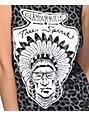 Glamour Kills Free Spirit Leopard Print Muscle Tank Top