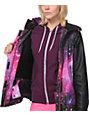 Glamour Kills Freshies Pink Galaxy 10K Snowboard Jacket