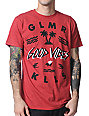 Glamour Kills Good Vibes Red T-Shirt