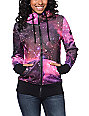 Glamour Kills Infinite Voyage Pink Tech Fleece Jacket