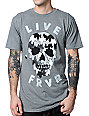 Glamour Kills Live Forever Drip Grey T-Shirt