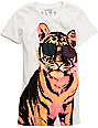 Glamour Kills Tiger Style White T-Shirt