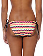Glamour Kills Zigzag Print Side Tie Bikini Bottom