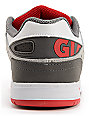 Globe Lock White, Grey & Red Skate Shoes