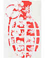 Grenade Aloha Die Cut Sticker