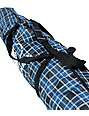 Grenade Blue Plaid 166cm Snowboard Bag
