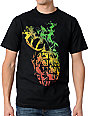 Grenade Smokebomb Rasta & Black T-Shirt