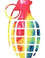 Grenade Tie Die 8.5 Predator Sticker