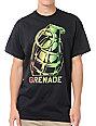 Grenade Tilt Rasta Black T-Shirt