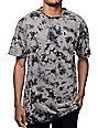 Grizzly Mid-Plains Black Tie Dye T-Shirt