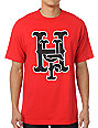 HUF Big League Red T-Shirt