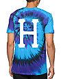 HUF Classic H Script Tie Dye T-Shirt
